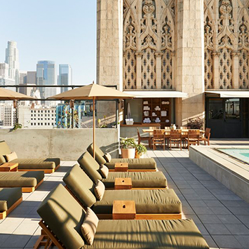 Rooftop Bar at The Ace Hotel