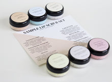 Load image into Gallery viewer, Lip Scrub Sample Set