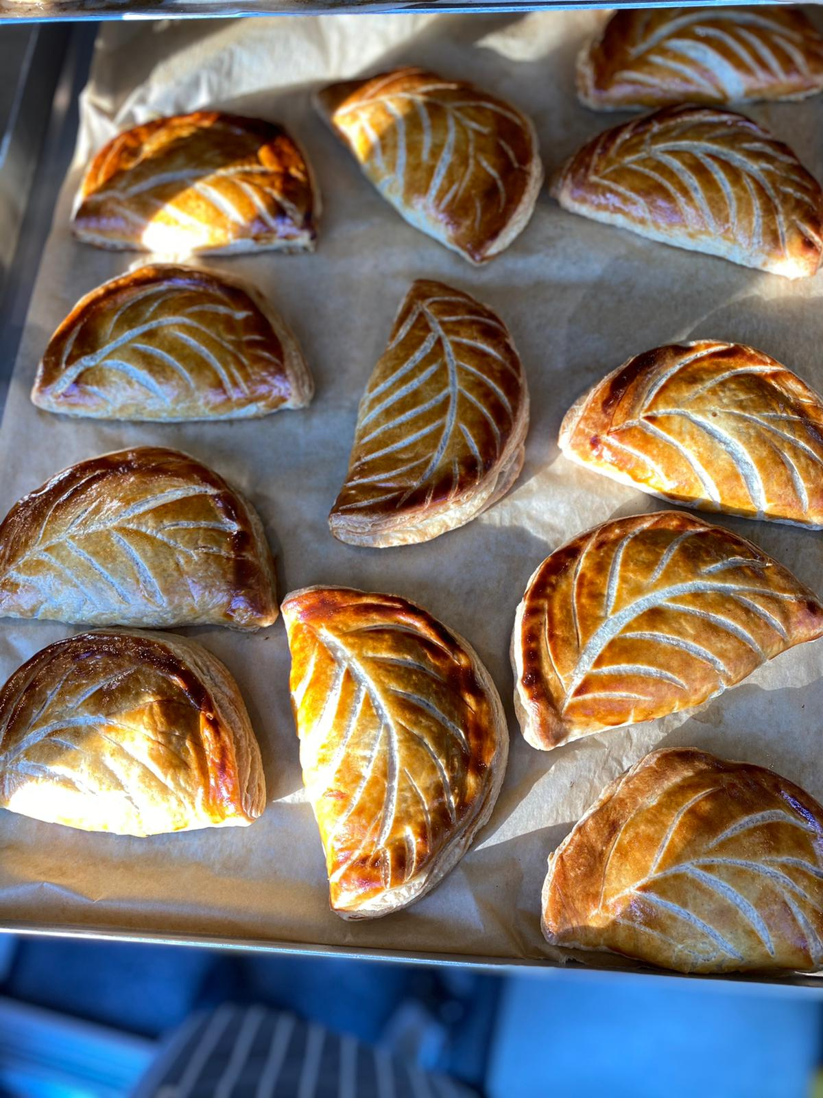 SATURDAY - Cheese, Potato & Wild Garlic Pasty