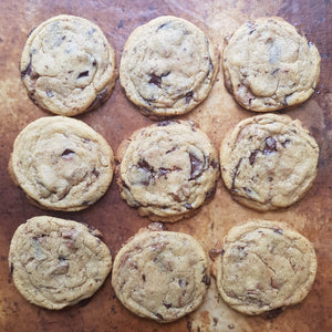 THURSDAY - Chocolate Chip Cookie