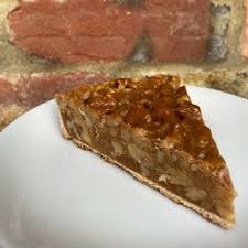 SUNDAY - Walnut & Salted Caramel Tart (slice)