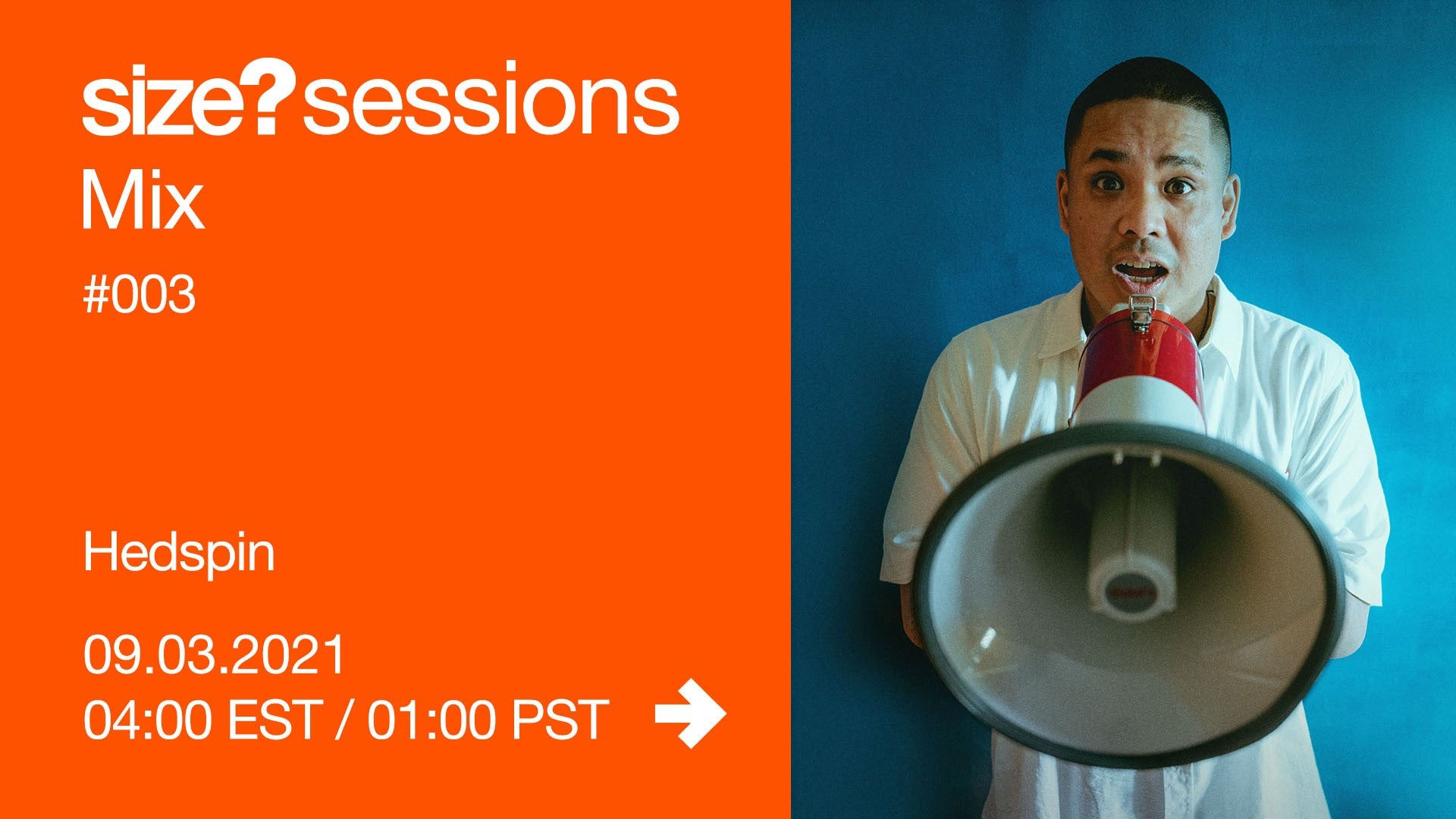 size?sessions mix #003