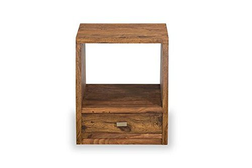 MP WOOD FURNITURE sheesham wood eters bedside table