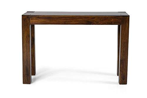 MP WOOD FURNITURE Sheesham wood console table - brown