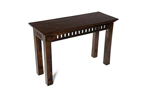 MP WOOD FURNITURE Sheesham wood console table - walnut finish - MP Wood Furniture