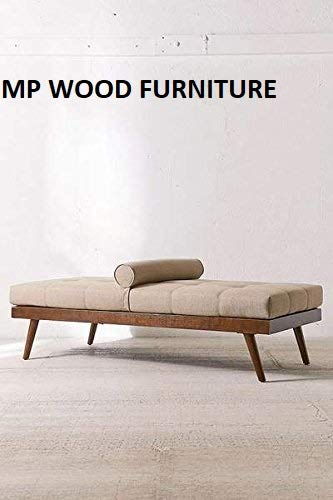 MP WOOD FURNITURE Sheesham wood 3 seater sofa cum bed - brown finish - MP Wood Furniture