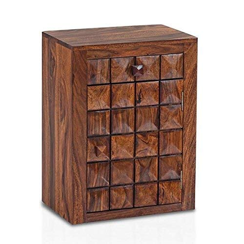 MP WOOD FURNITURE sheesham wood bowley bedside table