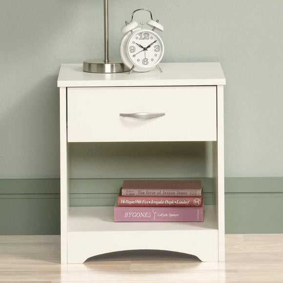 MP WOOD FURNITURE sheesham  wood slant brawed bedside table