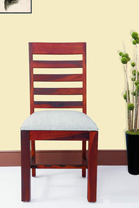 MP WOOD FURNITURE Sheesham Wood Dining Study Chairs  - Maple Finish