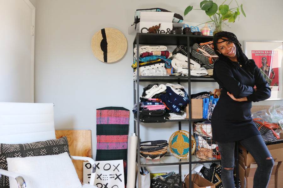 How an Entrepreneur Celebrates Her African Roots at Home and in Business