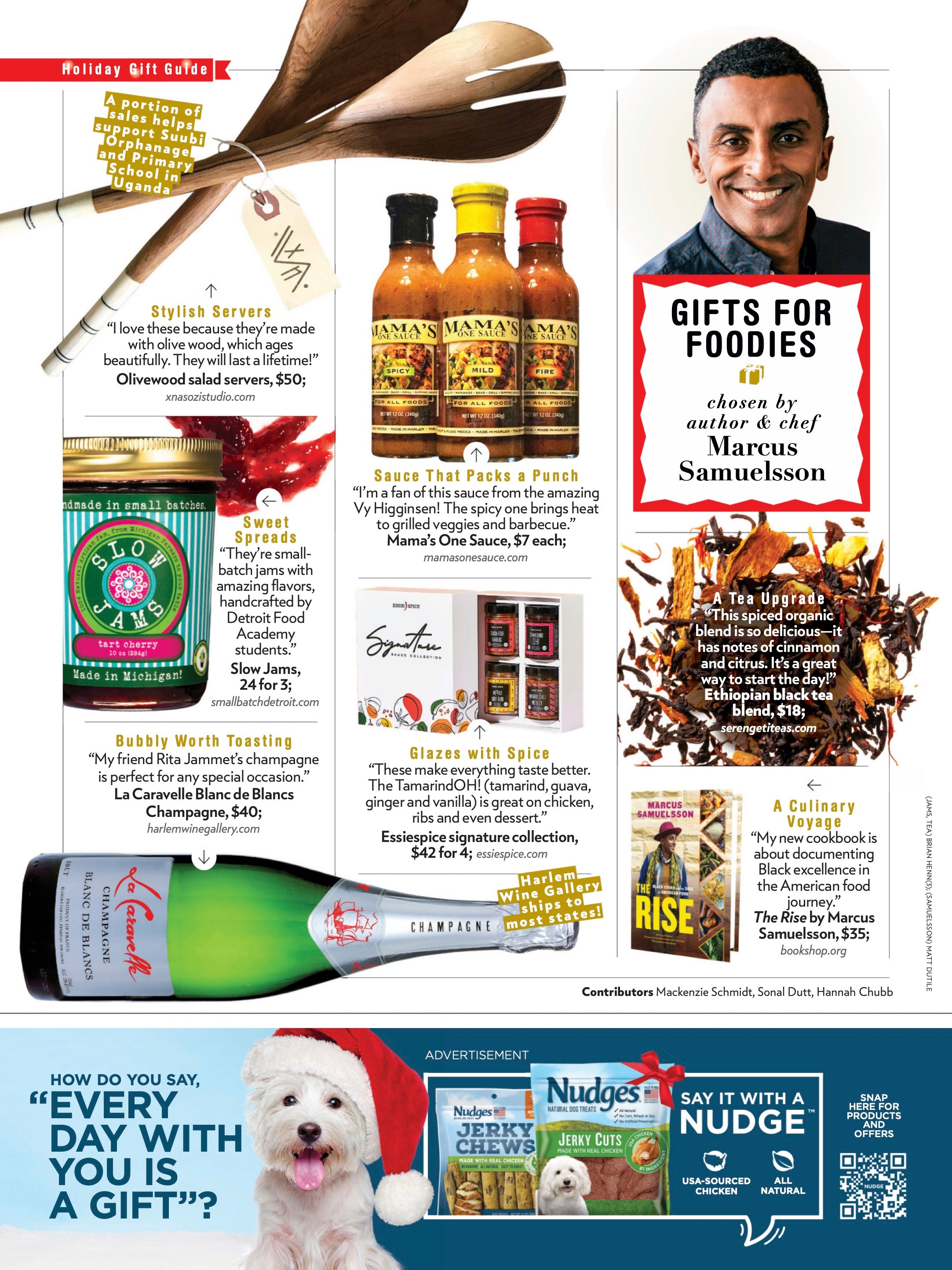 Marcus Samuelsson's 2020 Gift Guide, People Magazine