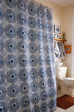 Load image into Gallery viewer, DELFT African Print Shower Curtain