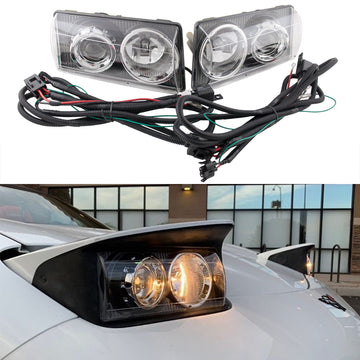 Corvette Envy C5 Projector Headlight Set