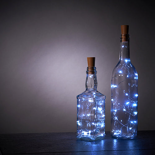 Cool White Bottle String Lights - Set of 2 by True