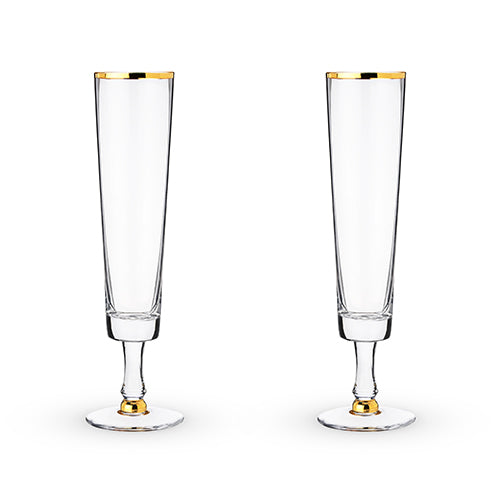 Wedding Champagne Flute Set by Twine®