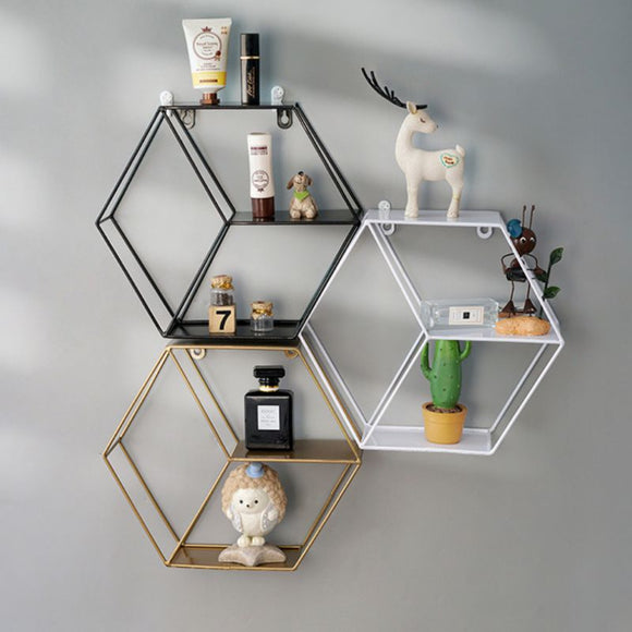 Iron Grid Shelf