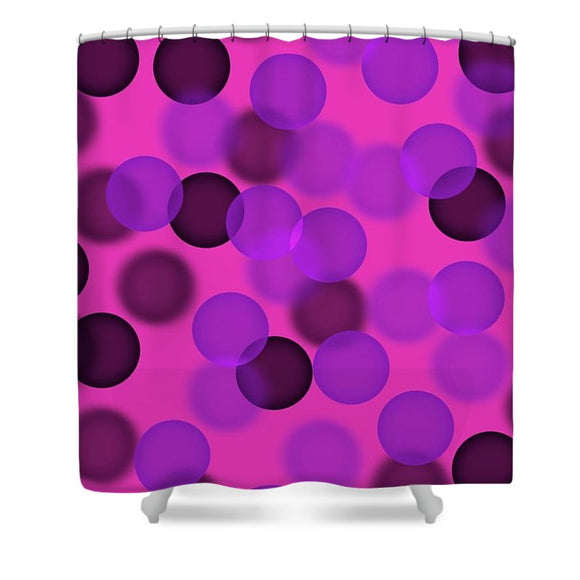 Circle of Life Shower Curtain by Laura Lisa Designs