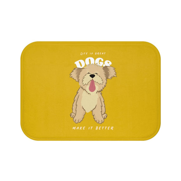 Dogs Make it Better Bath Mat
