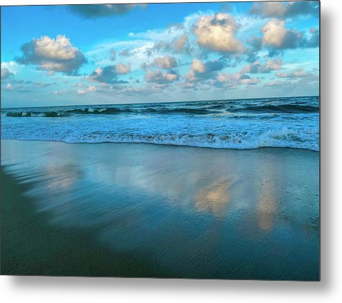 Heavens Mirror Metal Print by Laura Lisa Designs