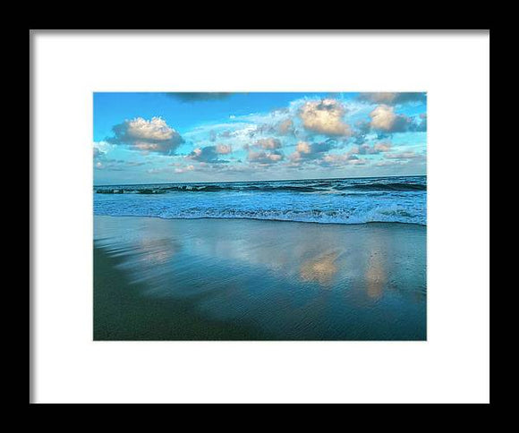 Heavens Mirror Framed Print by Laura Lisa Designs