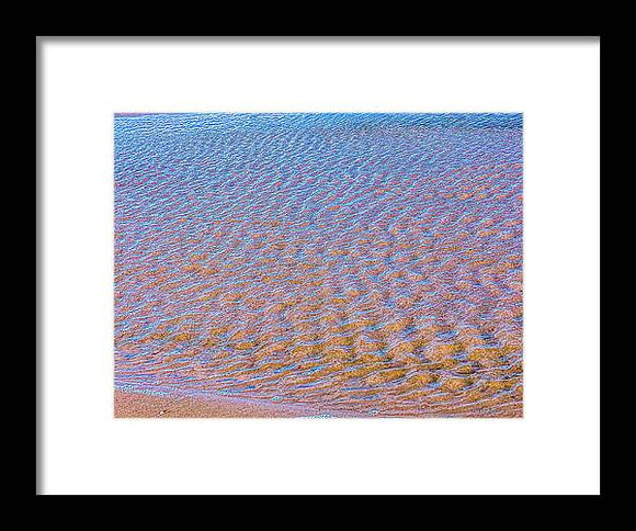 Ripple Effect Framed Print by Laura Lisa Designs