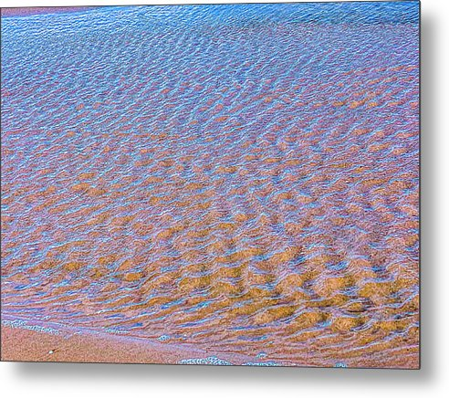 Ripple Effect Metal Print by Laura Lisa Designs