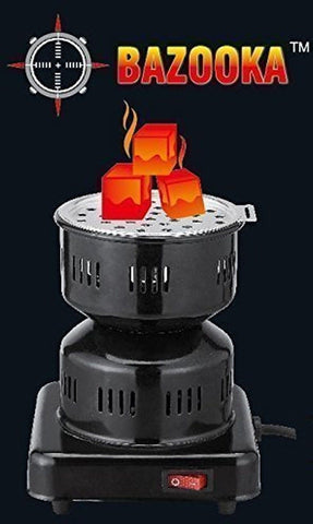 Electric Bazooka Charcoal Burner - Hookah Junkie