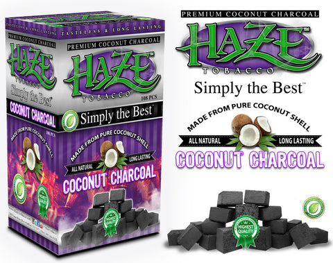 Haze Charcoal 108pc - Hookah Junkie