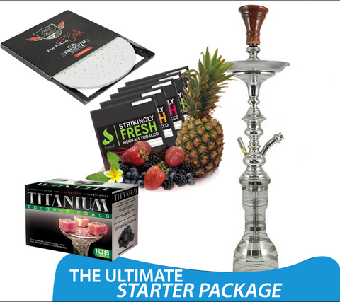 The Ultimate Hookah Junkie Starter Package
