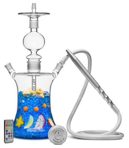 Art Hookah Temple 45 V4 With Tray - Hookah Junkie