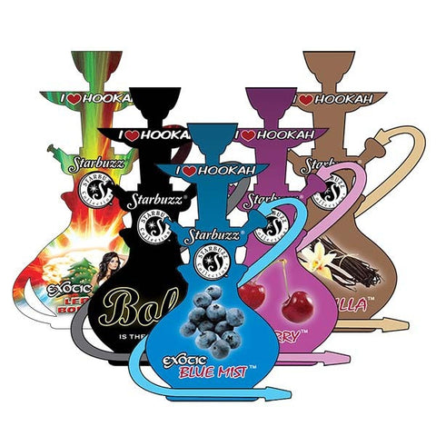 Starbuzz Collection Paper Air Freshener - Hookah Junkie