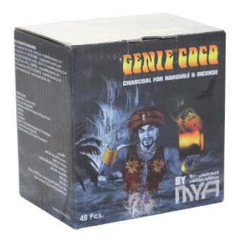 MYA Coco Genie Charcoal - Medium Box - Hookah Junkie