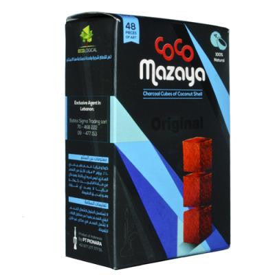 Coco Mazaya Medium Pack (48pcs) - Hookah Junkie
