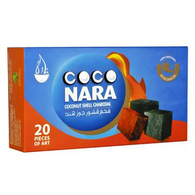 Coco Nara Natural Hookah Coals (16 FLAT Pieces)
