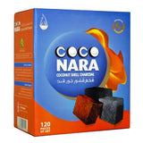 Coco Nara Natural Hookah Coals (120 FLAT Pieces)