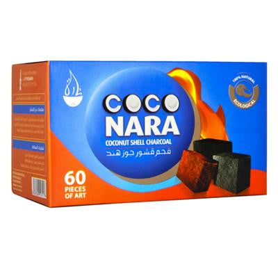 Coco Nara Natural Hookah Coals  (60 FLAT Pieces)