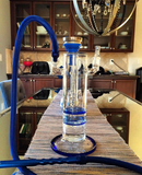 Heavy Hitter Double Dragon Glass Hookah - Hookah Junkie