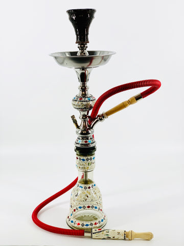 Mother of Pearl Egyptian Hookah.