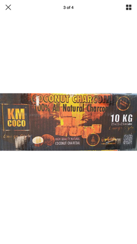 KM COCO COCONUT CHARCOAL 10 KILOS Lounge Style