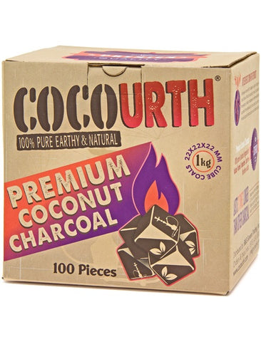 COCOURTH MINI CUBES - 100CT - Hookah Junkie