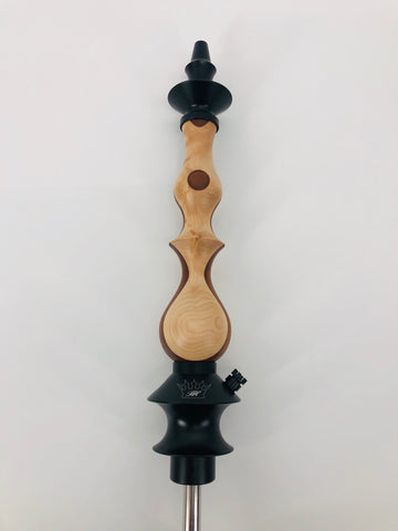 Regal Queen Stem  Tri Play Custom - Hookah Junkie