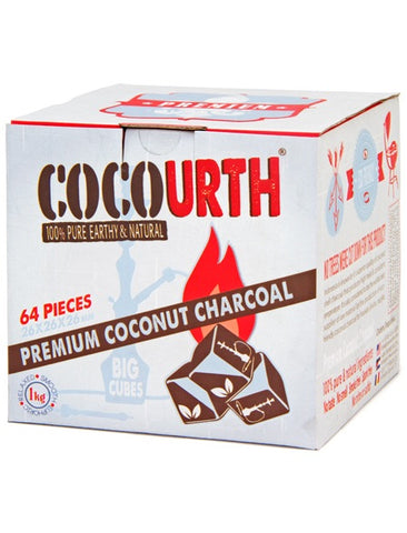 CocoUrth Big Cubes  64 pieces - Hookah Junkie