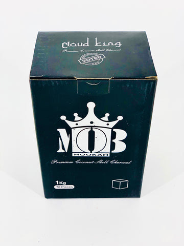 Cloud King Mob Coconut Charcoal - Hookah Junkie