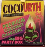 CocoUrth Flat 2 kilo box 192 pieces - Hookah Junkie