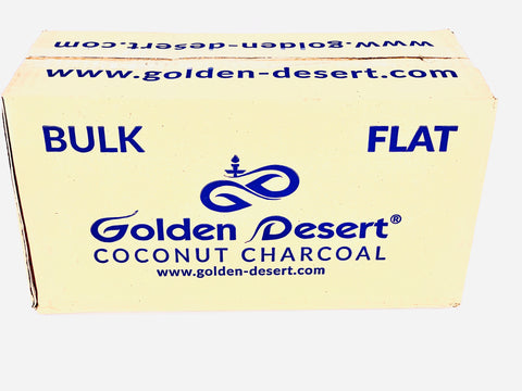 Golden Desert Coconut Charcoal Lounge Case Flats - Hookah Junkie
