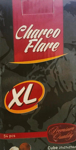 Charcoal Flare  XL Coconut Coal 54pc