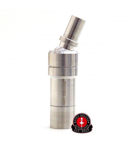 "AMY DELUXE ""UNIVERSAL"" STAINLESS SALE HOSE ADAPTER - Hookah Junkie"