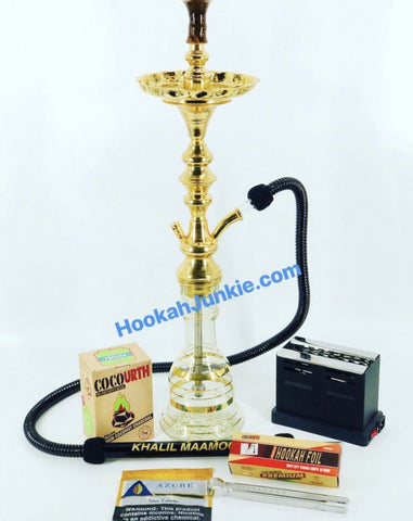 The Extreme Hookah Junkie  package Deal.