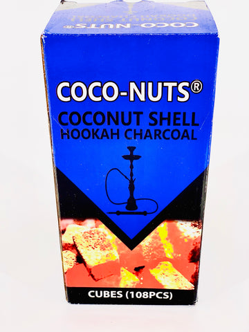 Coco Nuts Coconut Charcoal - Hookah Junkie