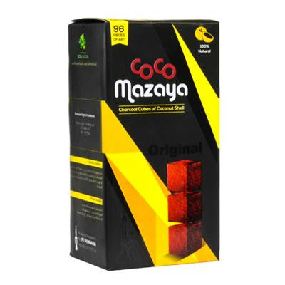 Coco Mazaya Natural Hookah Coals (96 Pieces)